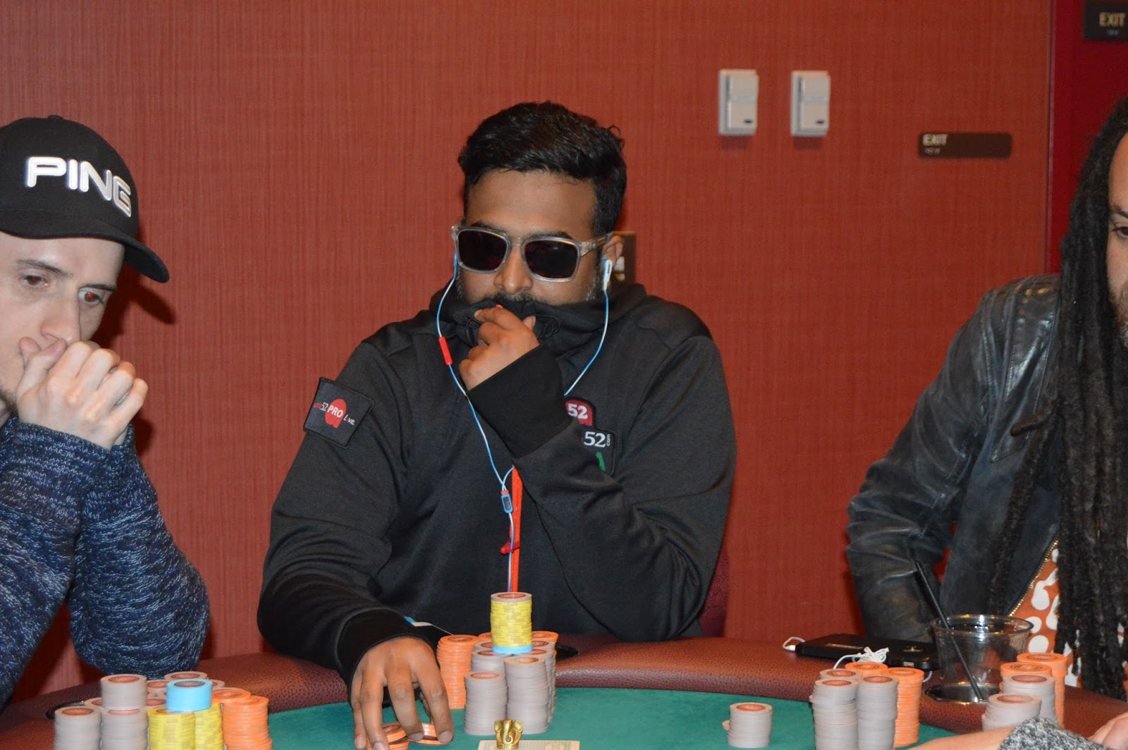 Madan Kumar makes smashing comeback at Parx Casino Big Stax Tournament XVI Day 2