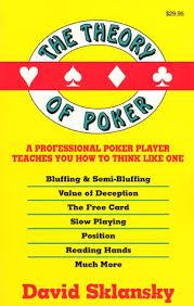 The Theory of Poker – David Sklansky