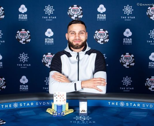 Huss Hassan Wins 2018 Wsopc The Star Sydney 2018 Poker Live News